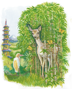 Animals on the Bamboo